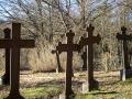 Cmentarz w Klukach z XVIII w.