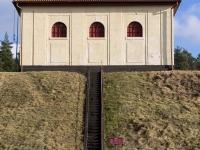 Zamek wodny - elektrownia wodna