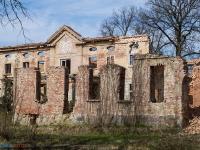 Pałac w Karżniczce - ruiny