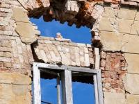 Pałac w Karżniczce - ruiny 3