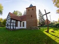 Kościół Znalezienia Krzyża w Charnowie z XV w.