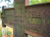 Krzyż grobu Gustava Rohde