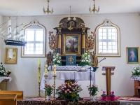 Kościół w Wytownie - ołtarz