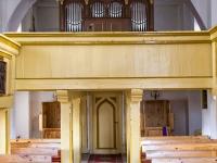 Kościół w Wytownie - wnętrze