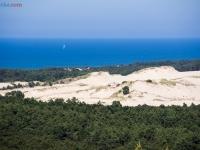 Widok z latarni - wydma Czołpińska
