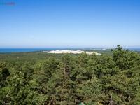 Widok z latarni - wydma Czołpińska 2