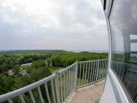 Wieża widokowa w Orzechowie - widok z góry
