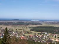 Góra Rowokół - widok z wieży