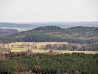 Góra Rowokół - widko z wieży
