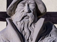 Pomnik rybaka Mistrala