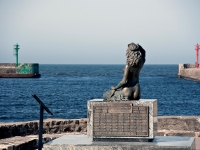 Ustecka Syrenka - wejście do portu