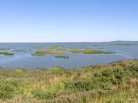 Panorama - wieża nad jeziorem Gardno