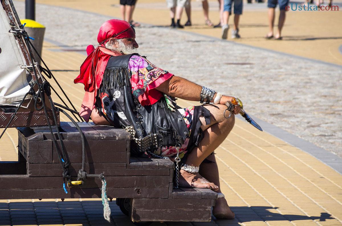 Pirat w porcie