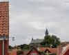 Widok na kościół w Gudhjem