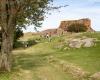 Ruiny twierdzy Hammershus