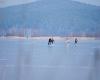 Jezioro Gardno - lodowisko - 4