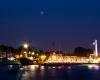 Zaćmienie księżyca 27-07-2018 - Port Ustka