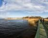 Punkt widokowy - Jezioro Łebsko - Gać 9