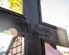 Cmentarz za kościołem w Objeździe