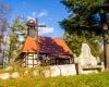 Kościół z 1606r. - Objazda