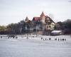 Łeba - zamek na plaży