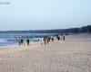 Uskta - plaża - 4 stycznia 2014