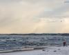 Zimowa Ustka 29.12.2014  - plaża wschodnia