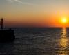 Zachód słońca - Ustka 2
