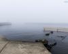 mgła Ustka - molo