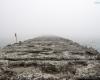 mgła Ustka - trzecie molo