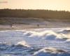 Plaża zachodnia - Ustka