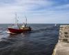Powrót statków do portu w Ustce 7