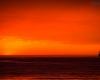 statek - zachód słońca Ustka - 23 czerwca 3013 r.