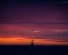 statek - zachód słońca Ustka - 23 czerwca 3013 r. 2