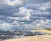 Plaża zachodnia Ustka