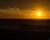 Zachód słońca - Ustka 3-molo