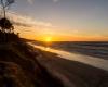Zachód słońca - sztorm Ustka 3