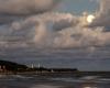 Zachód Księżyca - Ustka 3