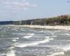 Plaża wschodnia Ustka