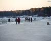 Ustka latarnia morska - zima 23-01-2014 3