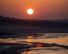 Zachód słońca Ustka 5