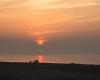 Zachód słońca - Ustka 3-molo 11.09.2016r b