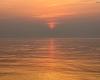 Zachód słońca - Ustka 3-molo 11.09.2016r d