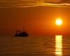 Ustka - zachód słońca