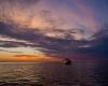Ustka - zachód słońca, Lady Assa