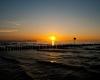 Ustka - zachód słońca, zima 6