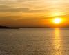 Ustka - zachód słońca 1 marca 2013 - 4