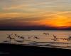 Ustka - zachód słońca 1 marca 2013 -3