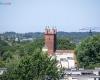 Widok z wieży - biblioteka