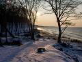 Orzechowo zimą